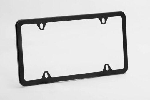 License-Plate-Frame-Matte-Black-Simple